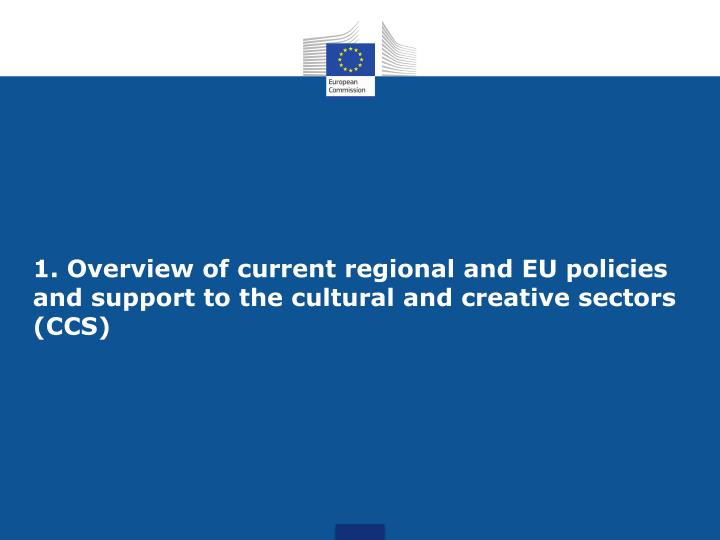 An overview of the eu regional policy