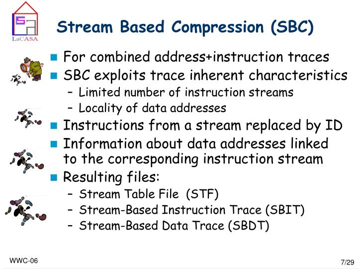 Stream Based Compression (SBC)