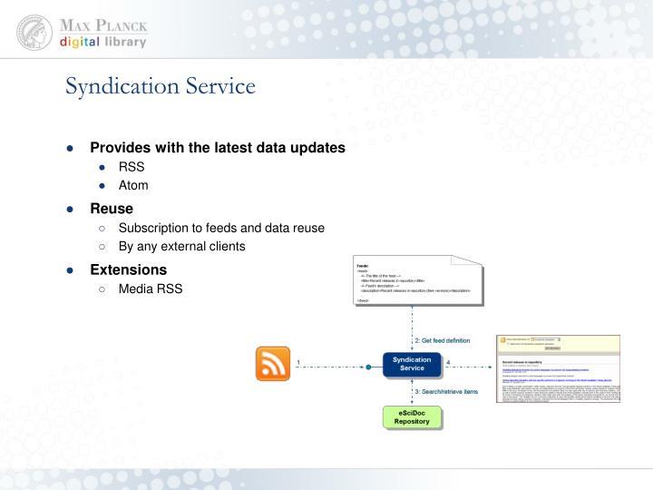 Syndication Service