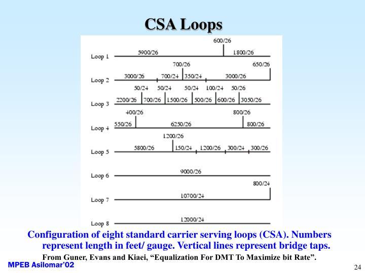 CSA Loops