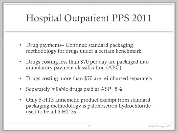 Hospital Outpatient PPS 2011