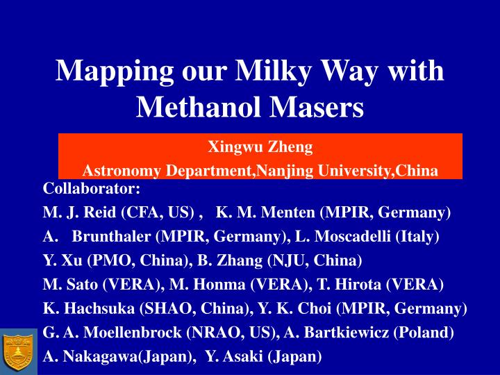 Mapping our milky way with methanol masers