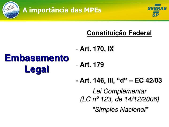 A importância das MPEs