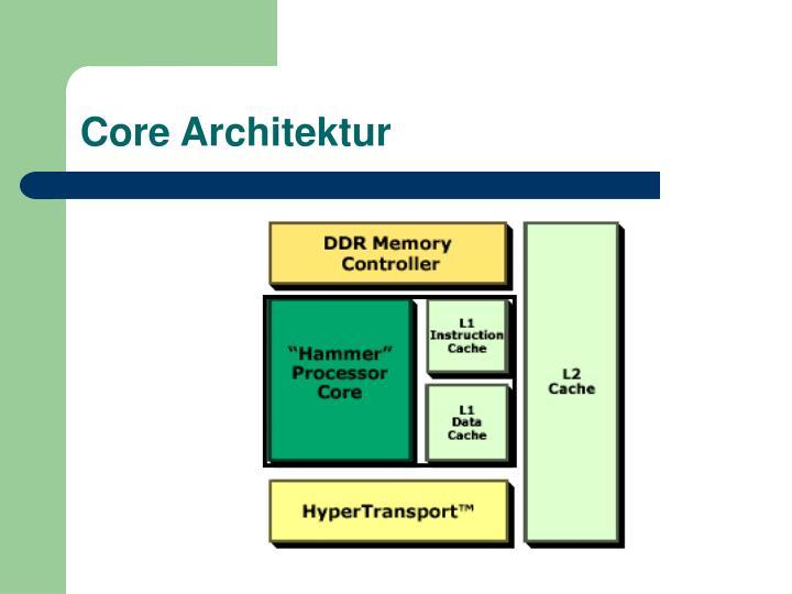 Core Architektur