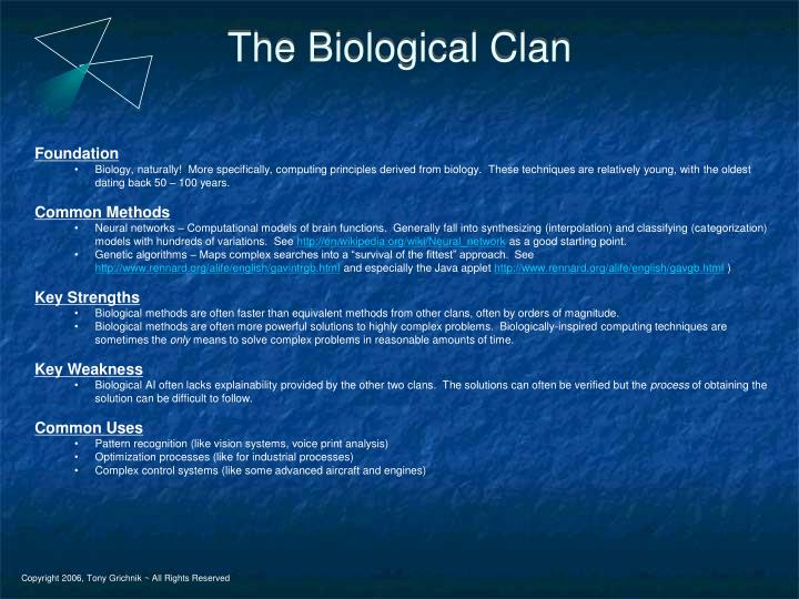 The Biological Clan
