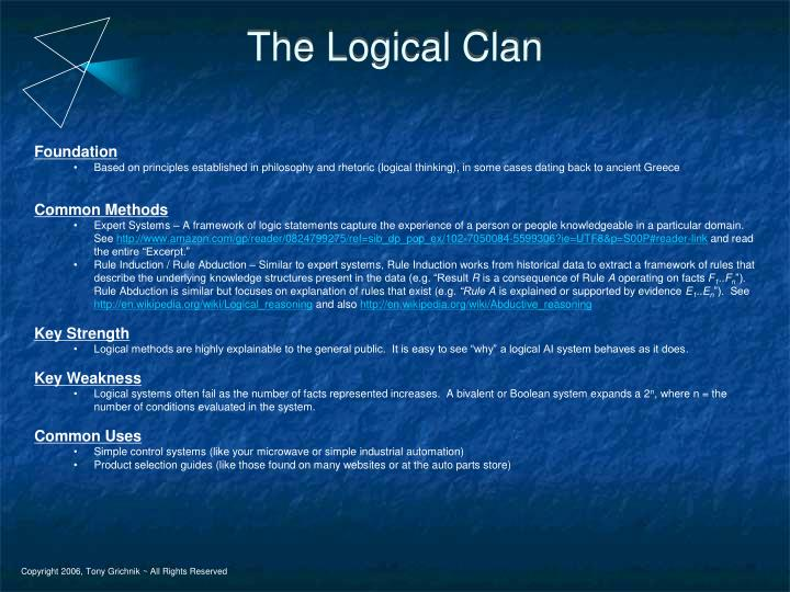 The Logical Clan