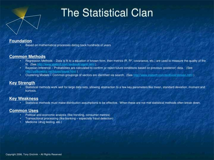 The Statistical Clan