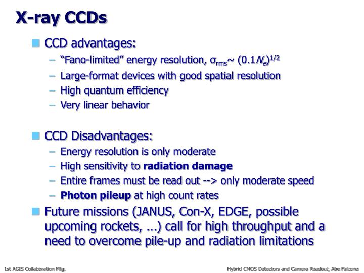 X-ray CCDs