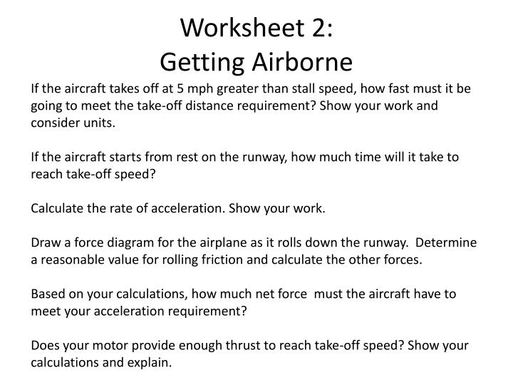 Worksheet 2: