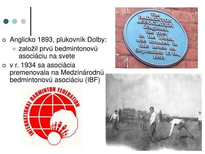 Anglicko 1893, plukovník Dolby: