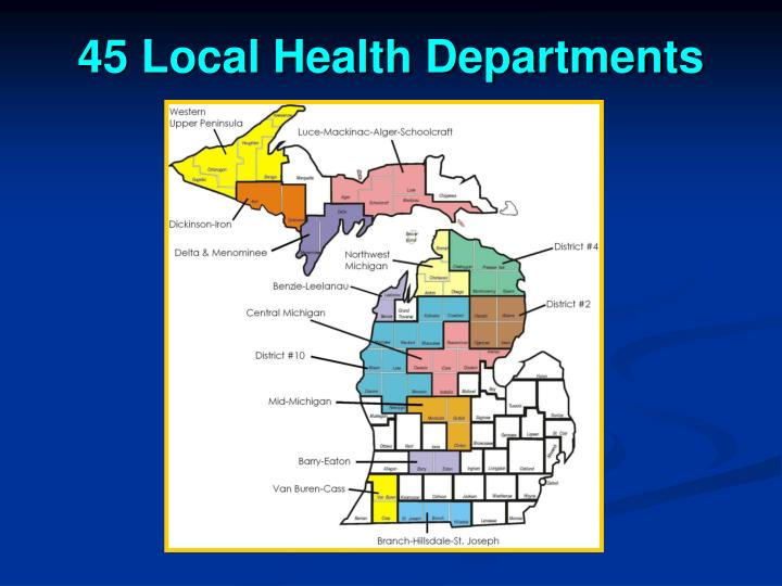 45 Local Health Departments