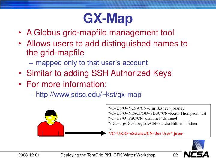 GX-Map