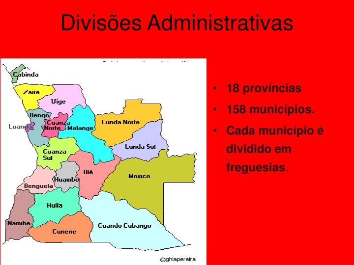 Divisões Administrativas