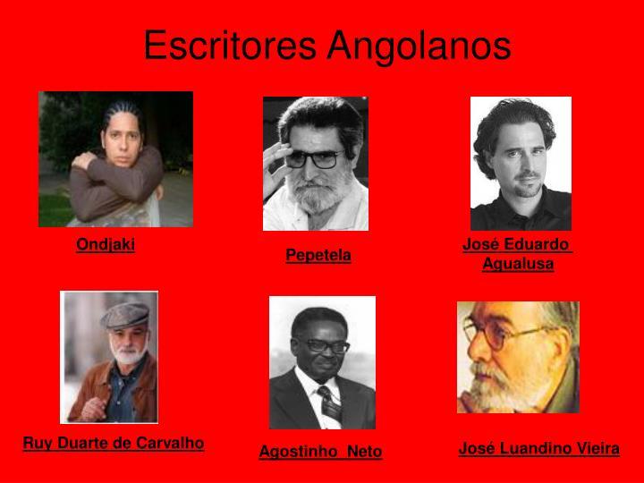 Escritores Angolanos
