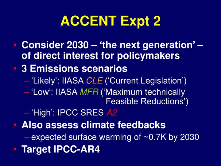Accent expt 2