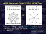 ospf designated routers drs nbma case