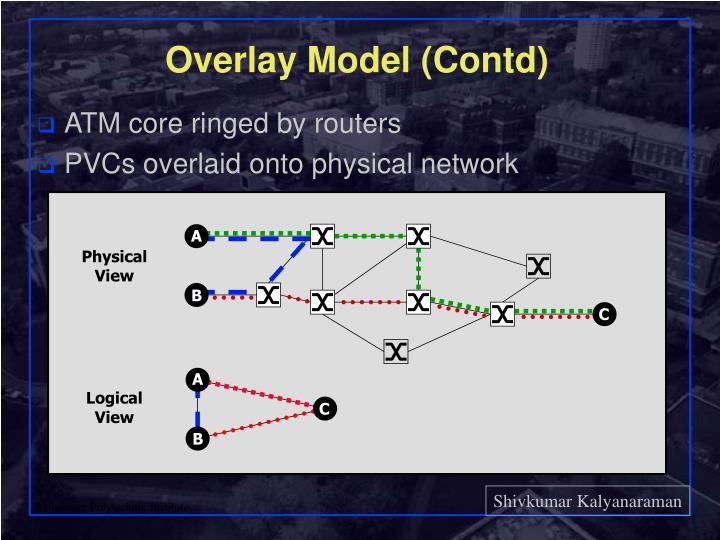 Overlay Model (Contd)