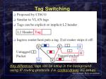 tag switching