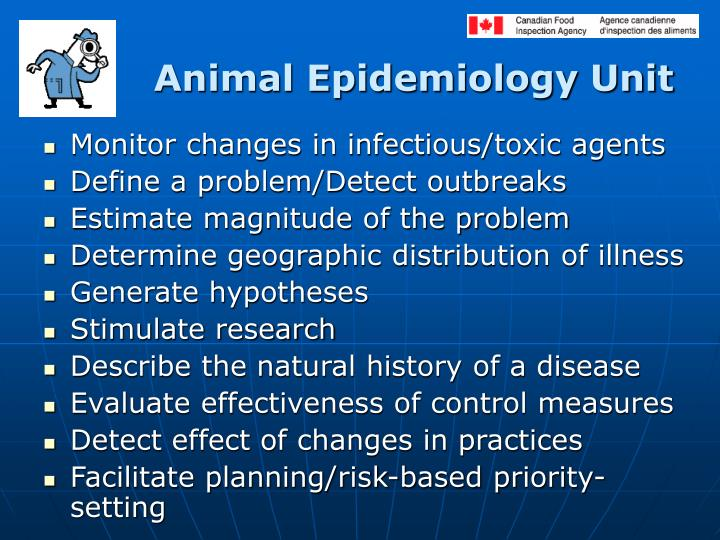Animal Epidemiology Unit