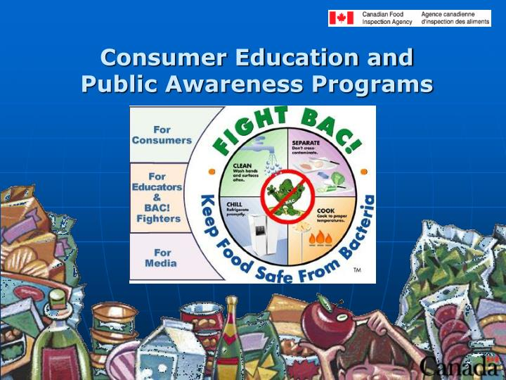 Consumer Education and