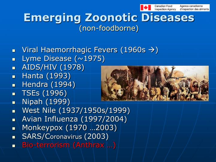 Emerging Zoonotic Diseases
