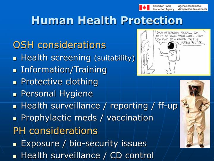 Human Health Protection