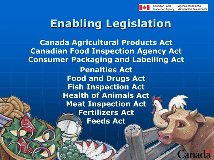 Enabling Legislation