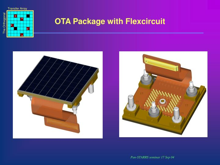 OTA Package with Flexcircuit