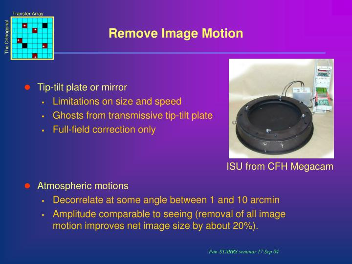 Remove Image Motion