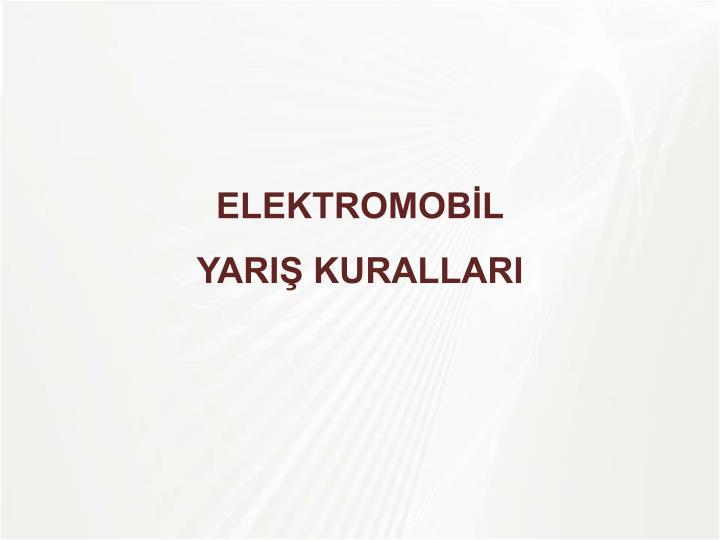 ELEKTROMOBİL