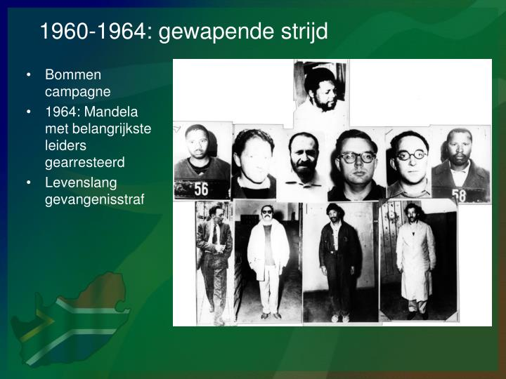 1960-1964: gewapende strijd