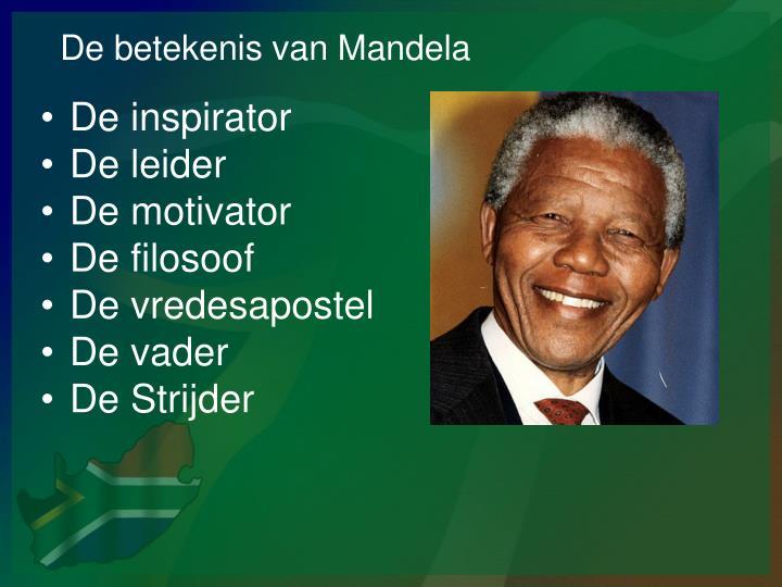 De betekenis van Mandela
