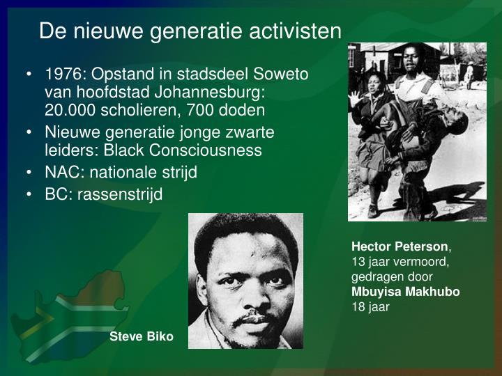 De nieuwe generatie activisten