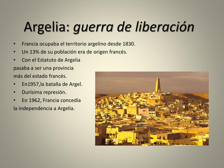 Argelia: