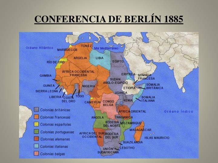 Conferencia de Berlín 1885