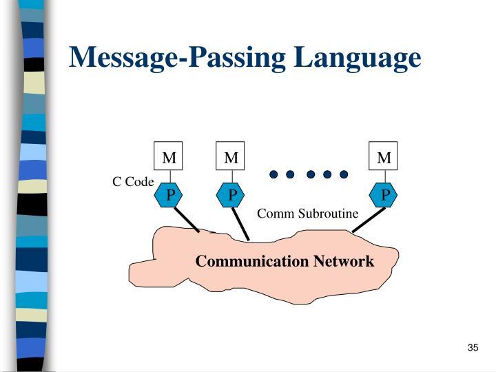 Message-Passing Language