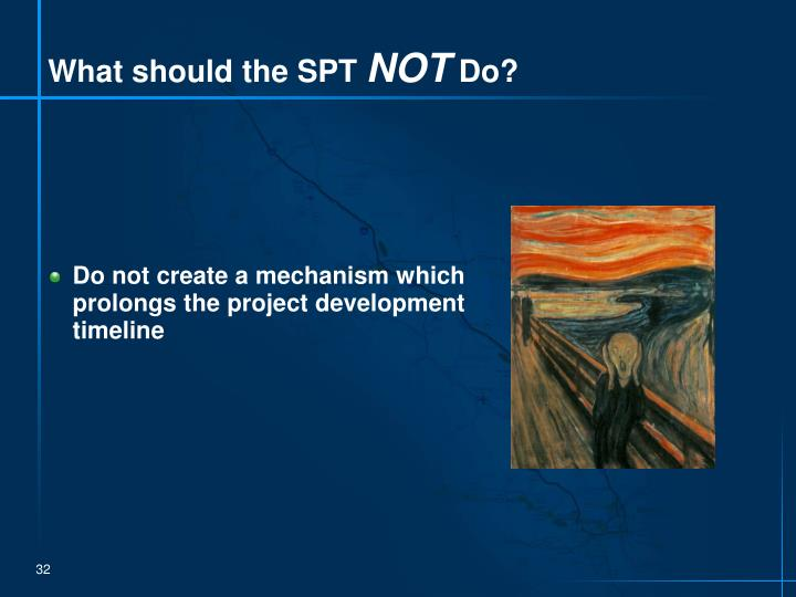 What should the SPT