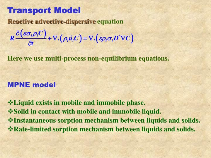 Transport Model