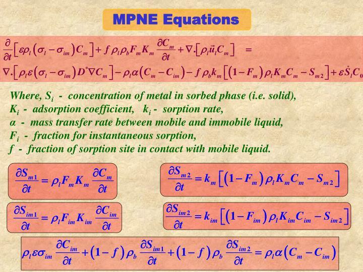 MPNE Equations