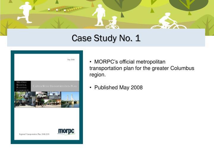 Case Study No. 1