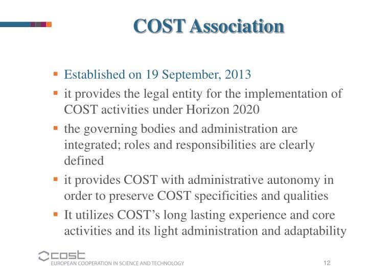 COST Association
