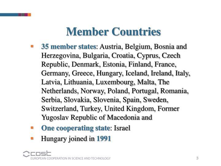 Member Countries