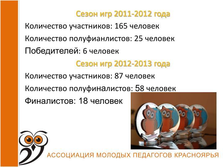 Сезон игр 201