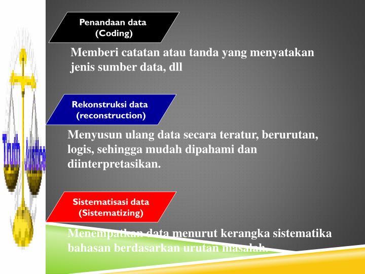 Penandaan data