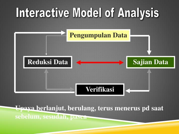Interactive Model of Analysis
