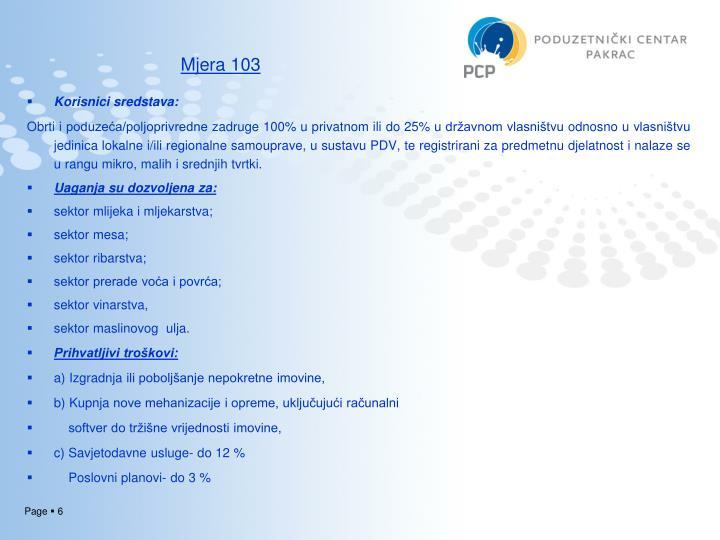 Mjera 103