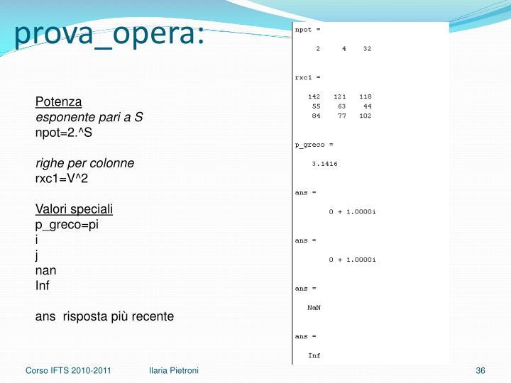 prova_opera
