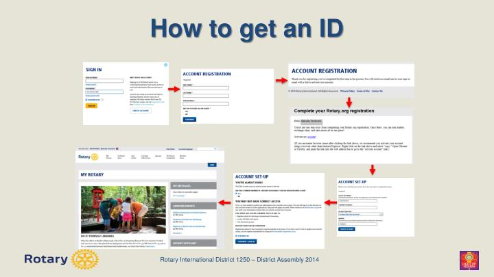 How to get an ID