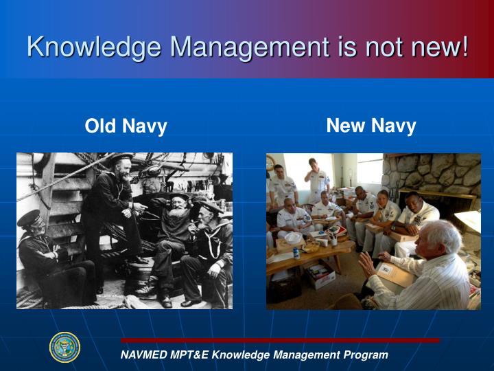 NAVMED MPT&E Knowledge Management Program