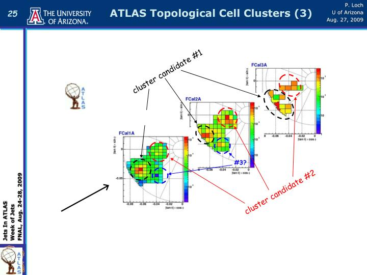ATLAS Topological Cell Clusters (3)